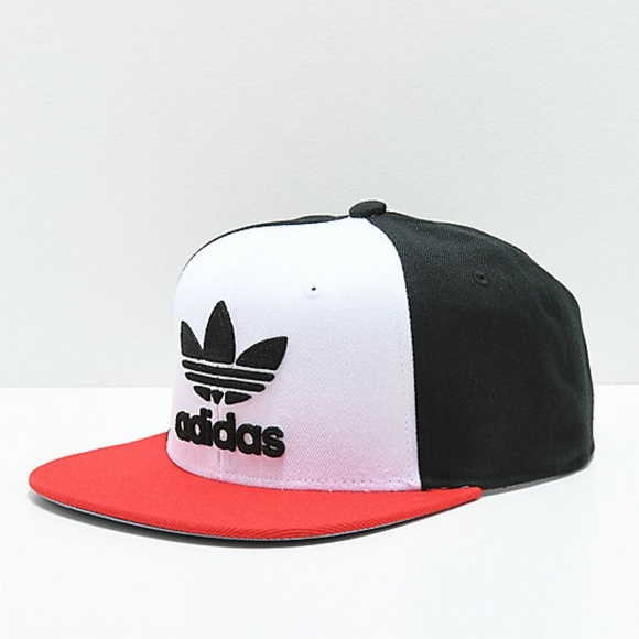 07685298323778 adidas Accessories | Mens Originals Trefoil Chain Snapback Cap ...